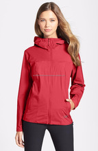 Wind stopper/Hooded winter outdoor Jacket/stand collar and Storm Hood 100% polyester jacket