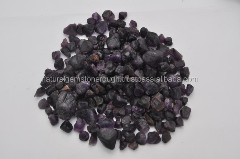 Natural Purplish Amethyst rough with bulk quantity low price from india