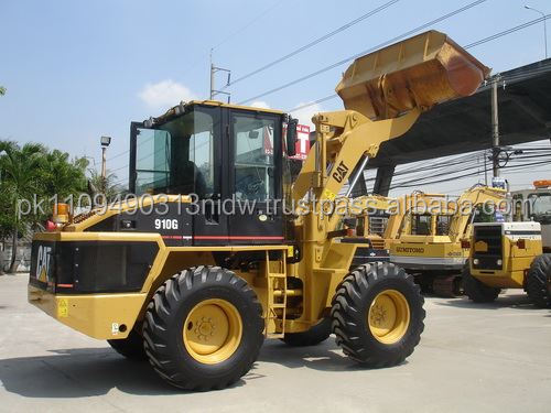 used cat 910 wheel loader, japanese used cat 910g wheel loaders for sale