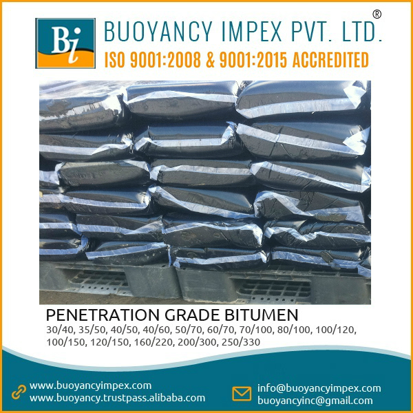 Bitumen 85 100 in polybags packing