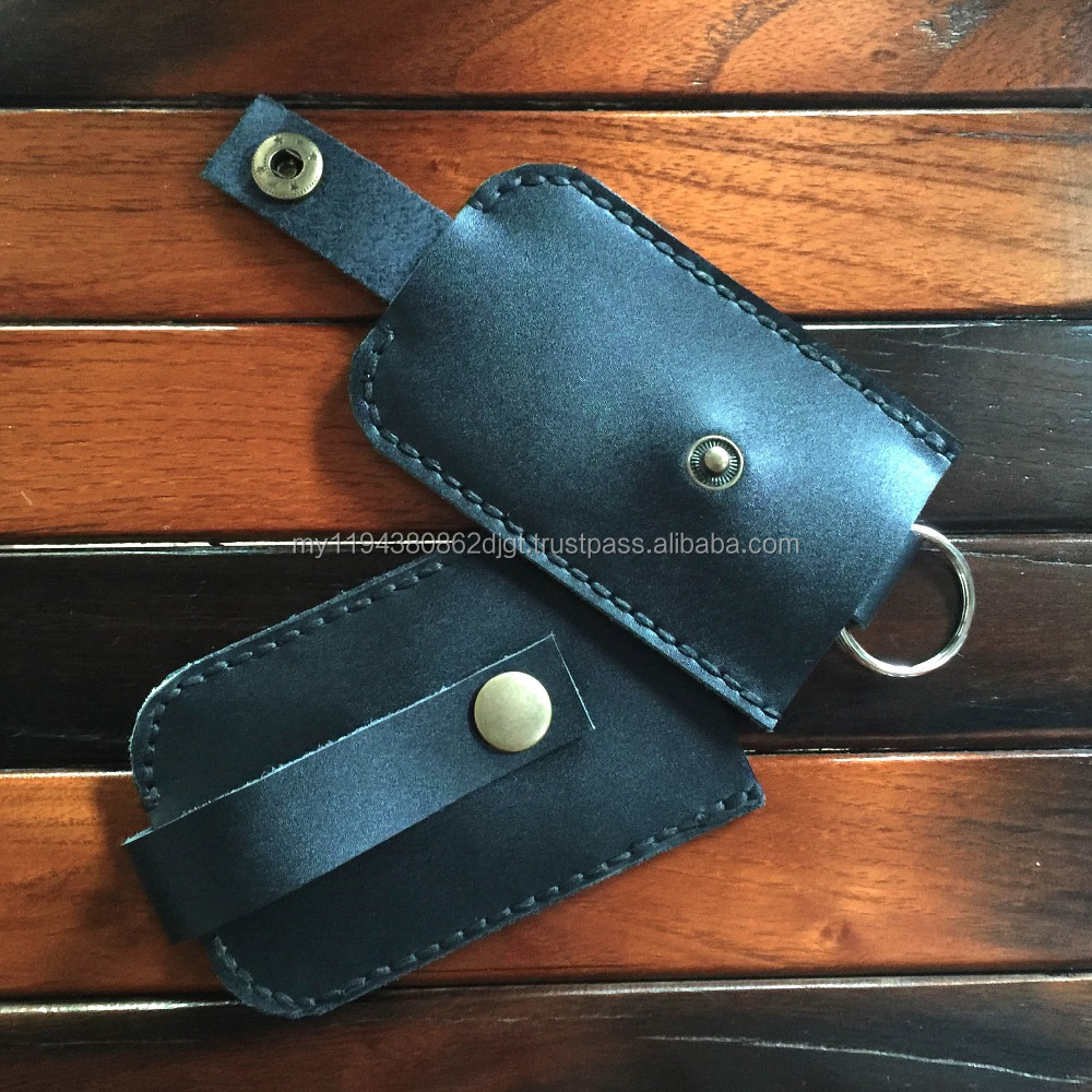 Genuine Leather Handmade Key Walltes Case