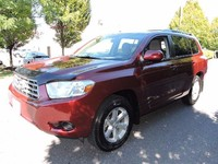 Used LHD Toyota Highlander 8 seats 2011