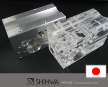 Original and Lightweight robot car parts with clean finish made in Japan