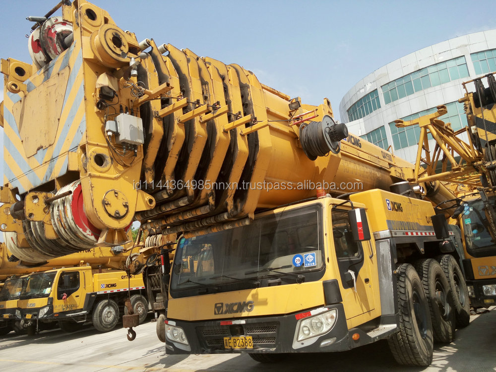 XCMG 500 ton all terrain crane crane gearbox first brand in china