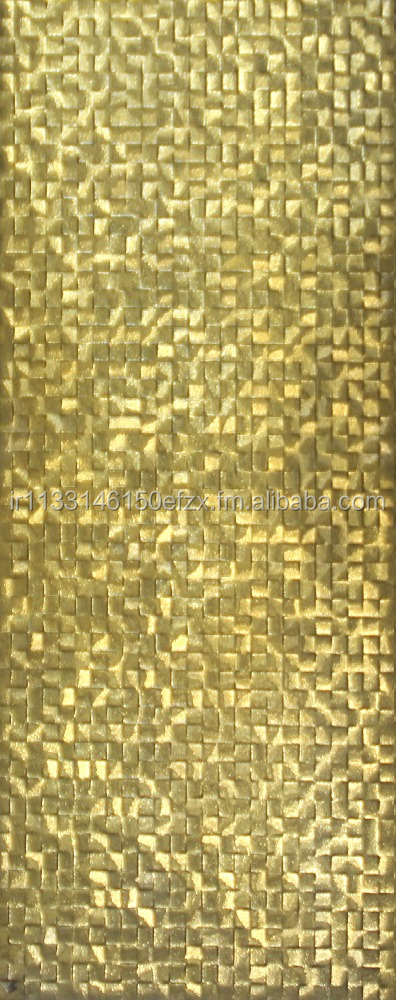Raspina / Luxury Golden Tiles - Wall Tiles - Metallic Tile