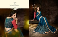 Designer Chiffon Saree/Indian and Pakistan Clothing