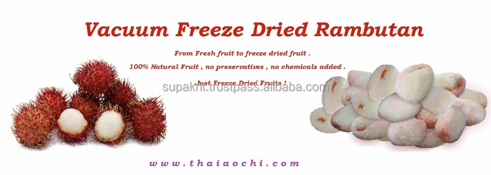 BEST SELLING VFD RAMBUTAN - DRIED RAMBUTAN SNACK FROM THAILAND