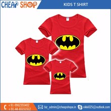 Cartoon Character Printed Beautiful Kids T Shirts Available for Bulk Export