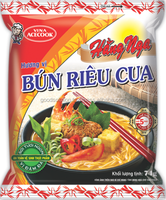 HangNga Crab Instant Rice Noodles/Instant Food