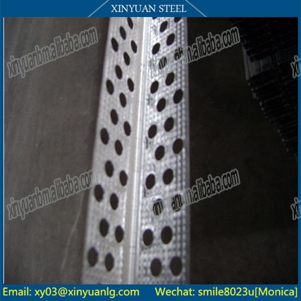 Perforated Galvanized Wall Angle 25*25