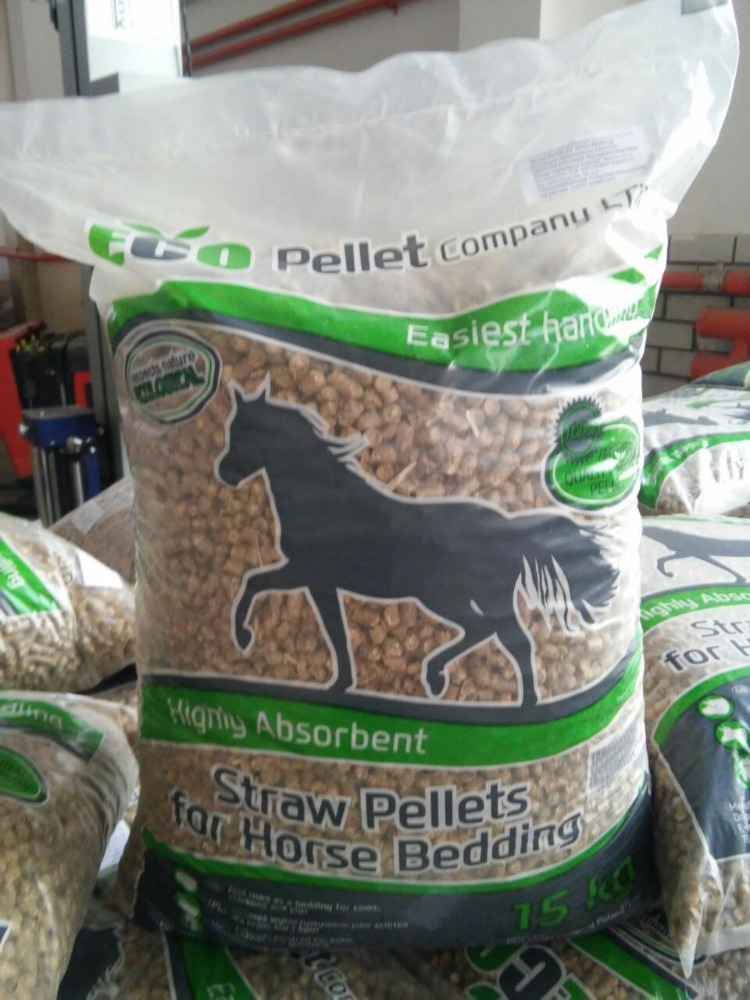 ECOPELLET RAPESEED STRAW PELLETS for horse beddings