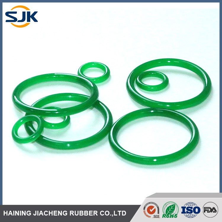 Customized color and size PU o ring with best price