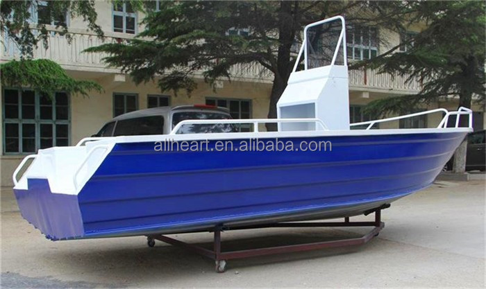 small aluminum boats for fishing 5m 17ft wonder with console