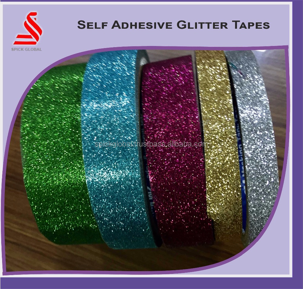 Holographic BOPP Self Adhesive Tapes Glitter Hologram Tape Films