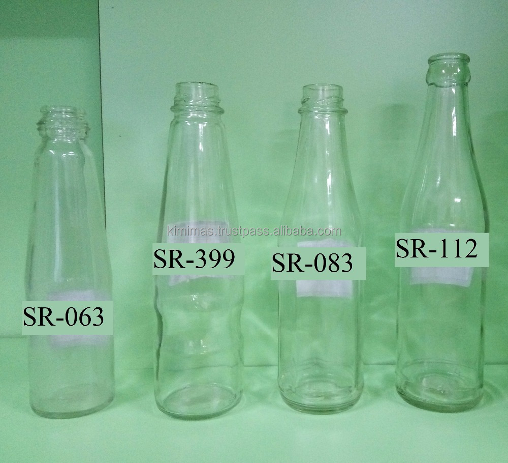 Sauce Round Glass Bottle