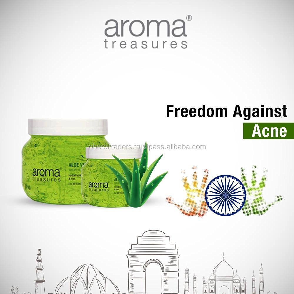 Aroma Treasures Aloe Vera Gel for Hair,Skin & Body