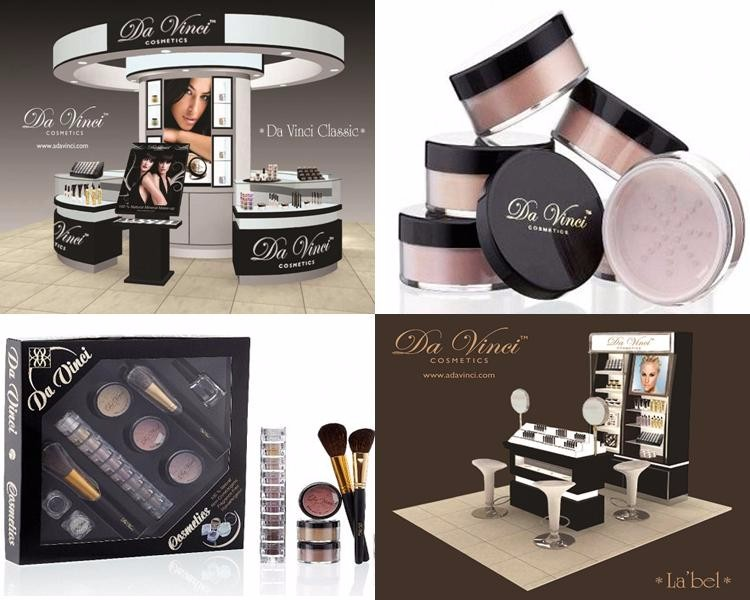 Da Vinci Cosmetics Distributor 100% Retail Makeup 100% Halal Cosmetics 100% American - Ideal for Iran