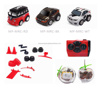 Micro plastic mini rc racing toys car 5cm