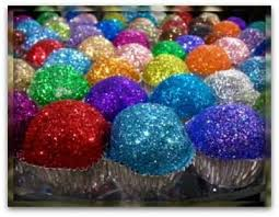 Durable crazy Selling edible rainbow glitter powder