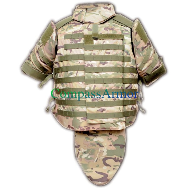 Military interceptor body armor,full body armor bulletproof vest for sale