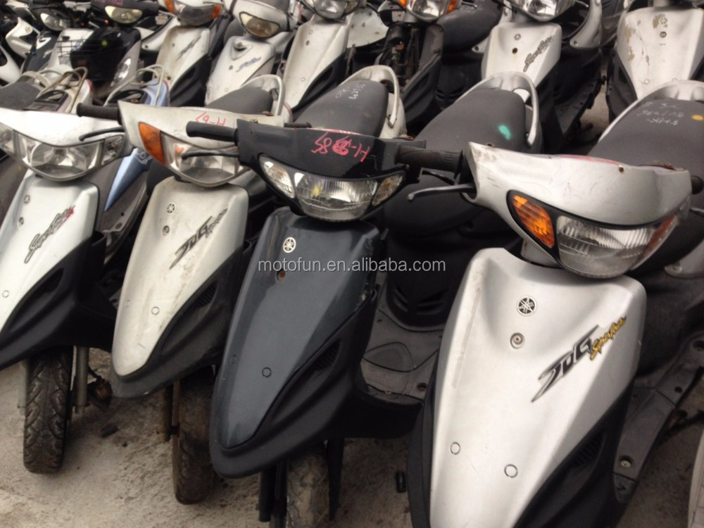 Taiwan USED SCOOTERS MOTORCYCLES 49cc~150cc export refitted repaired