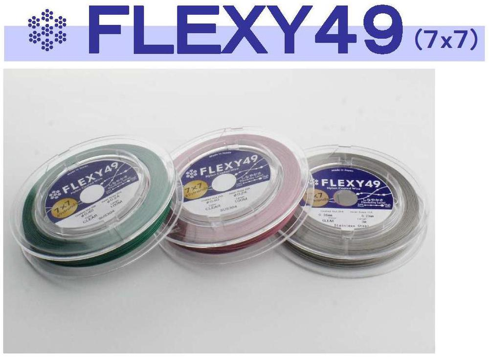 Nylon coated stainless steel flexible jewelry wire wholesale