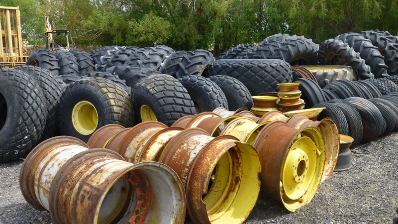 tires for farm tractors used High flotation agricultural tyre 500/60-22.5
