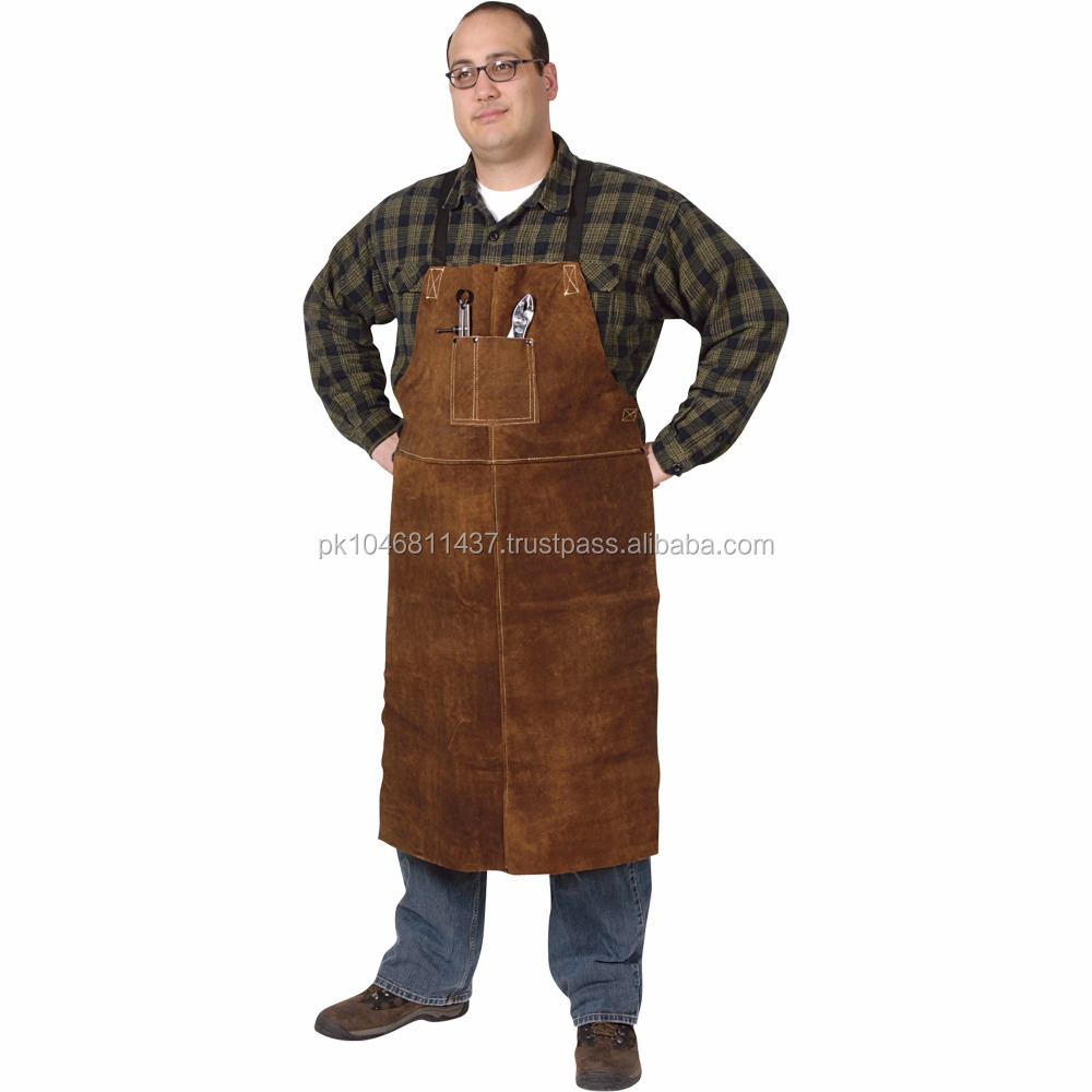 Cow Leather Welding Apron for Industrial Work