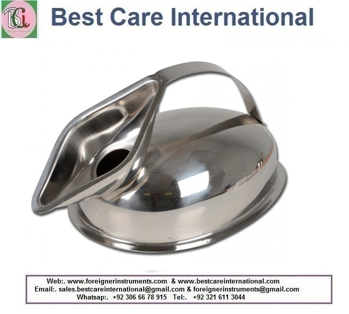 Stainless Steel Bed Pan For Females Female Bed Pot