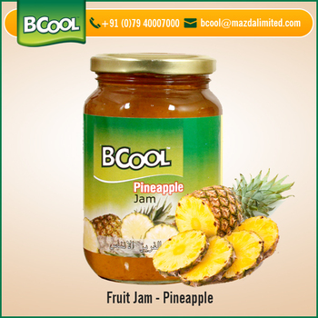 Delicious Taste Pineapple Pulp Fruit Jam at Competitive Rate