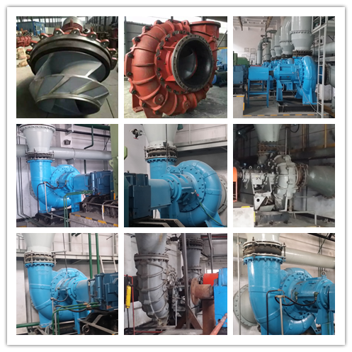 Desulfurization Corrision Resistant Centrifugal Slurry Pump Save Energy