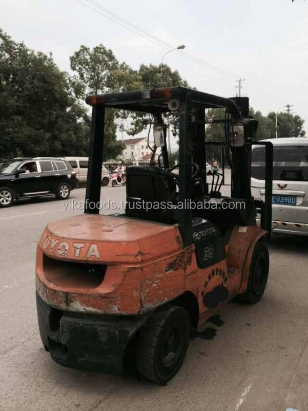 used conditon Toyota 3t forklift ,Japan mini forklift Toyota 3t forklift , diesel forklift Toyota 3t