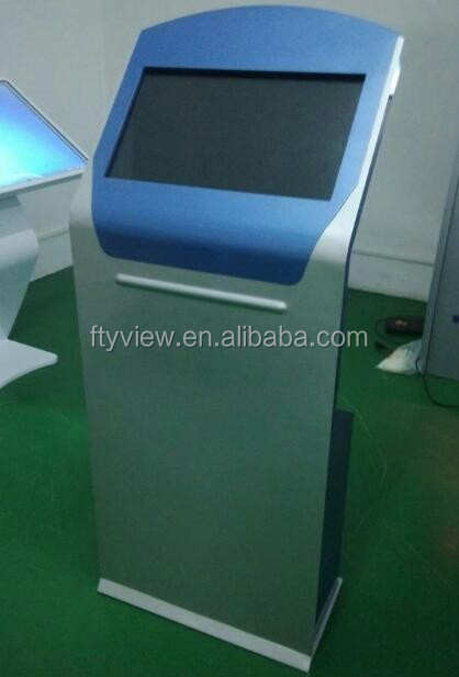 21.5 inch touch information kiosk touch screen kiosk digital signage touch kiosk