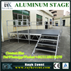 Cheap small stage lighting truss portable stage with wheels aluminum assembly stage