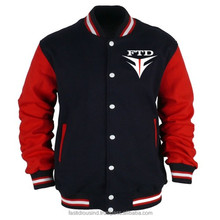 Leather Varsity Jackets For Men / Baseball Varsity Jackets With Hood