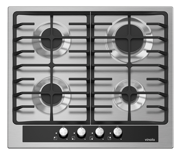 6721-06 Stainless steel built-in hob