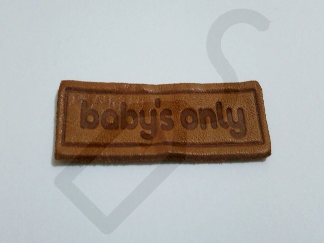 Real Leather Labels