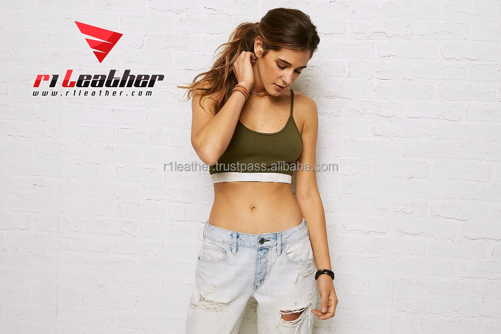 High quality 3D subliamtion women custom print crop top with factory price