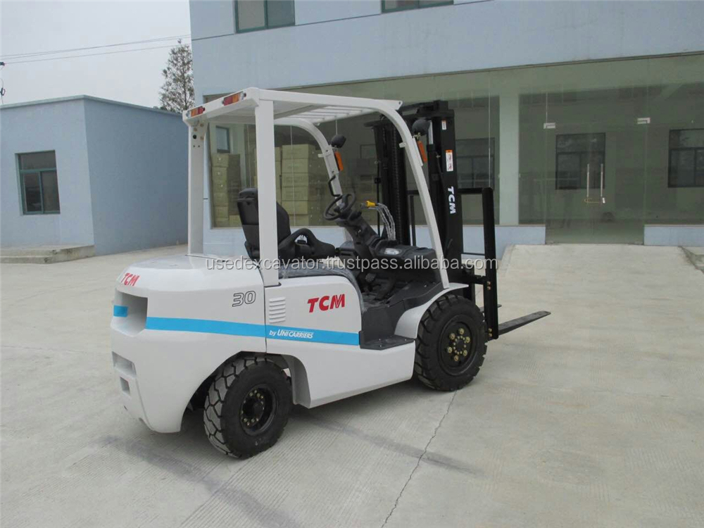 New TCM 3 ton forklift with diesel engine, Good condition and strong engine, also have Toyota forklifts for sale