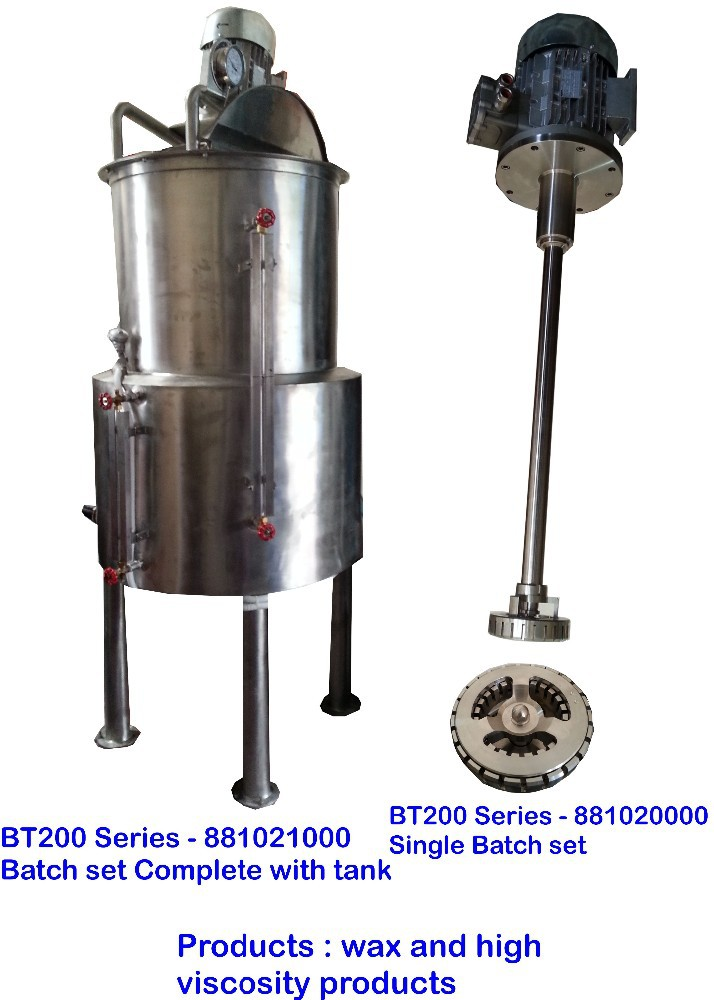 BT200-10 Dyna-Stream Homogenizer/Emulsifier/Disperser/Mixing Jet high quality attractive