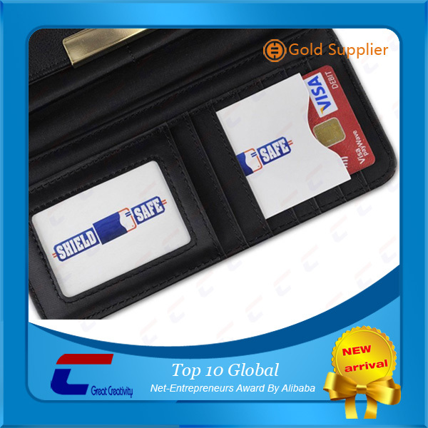 credit card blocking sleeve theft protection