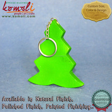 Custom color wooden Christmas tree ornaments to paint craft shapes
