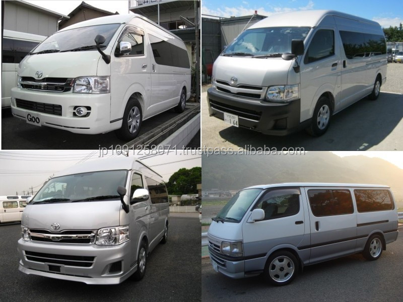 Reliable and High quality used toyota hiace at reasonable prices long lasting