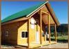 Chilcotin Two Story Timber Frame Cabin