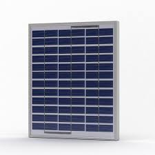 12w solar panel for small solar lighting kits