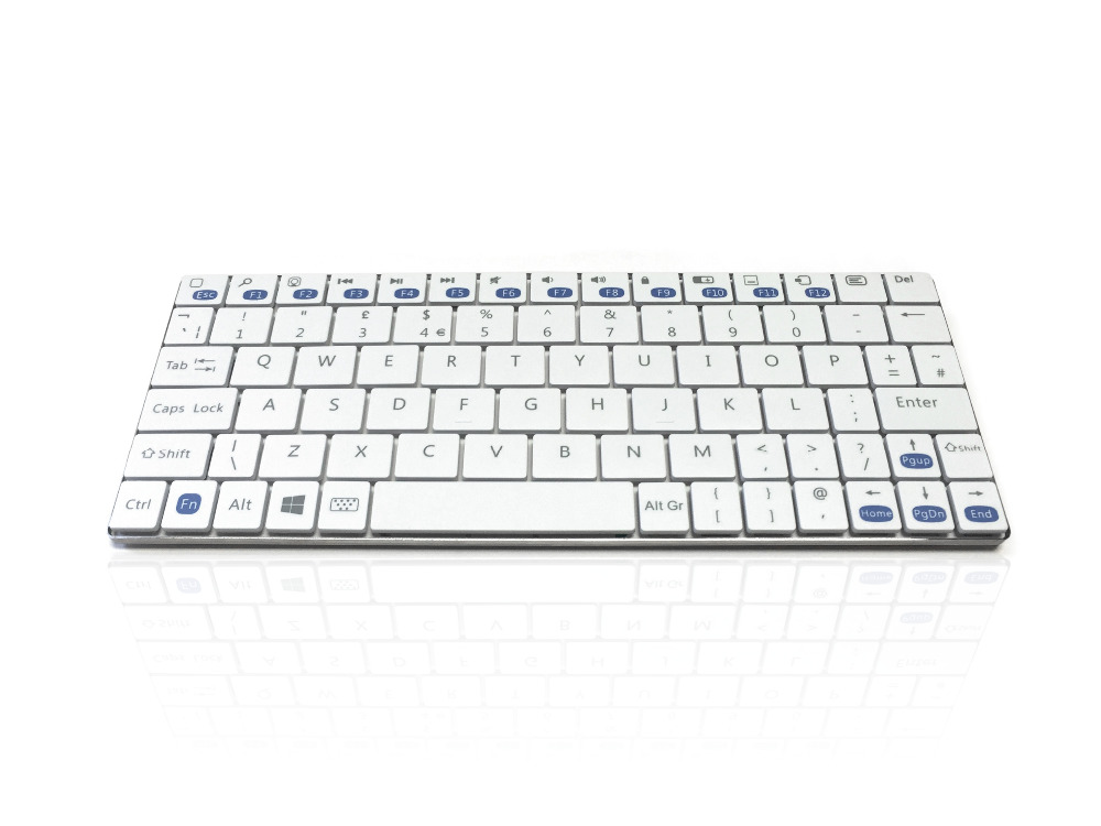 Accuratus Minimus - Minimalist Ultra Sleek Mini Bluetooth Wireless Keyboard for Windows
