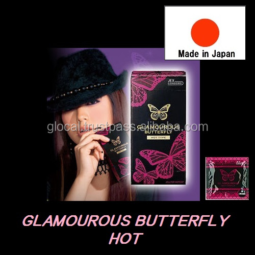 Lovely sex products hot feeling condom 6P made in Japan