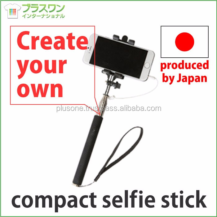 Easy to operate and Convenient wedding photo album selfie stick with earphone jack