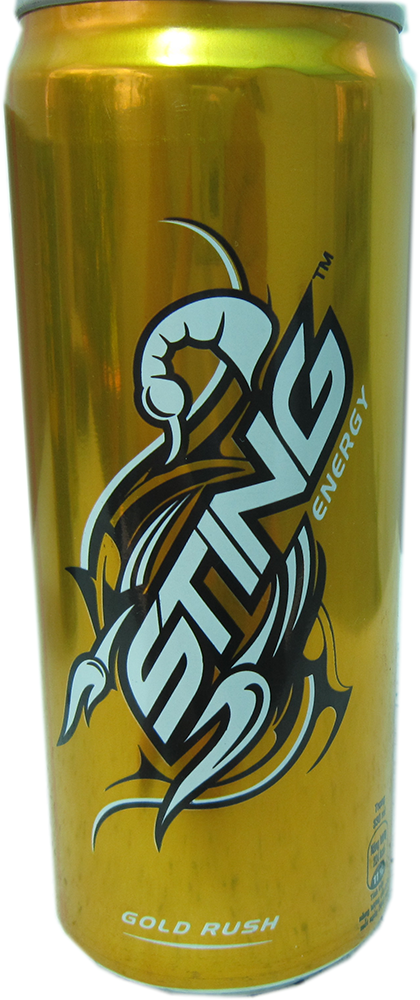 Sting 330ml Gold Rush energy drink Vietnam