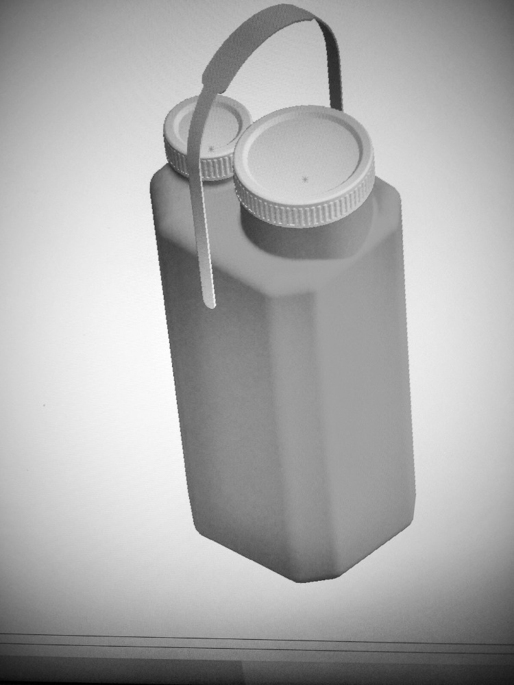 URINE CONTAINER FOR 24 HOURS 3 LITTERS SUITABLE WITH VACUUMED SYSTEM